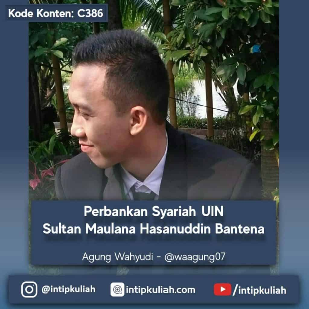 Perbankan Syariah UIN Sultan Maulana Hasanuddin (Agung)