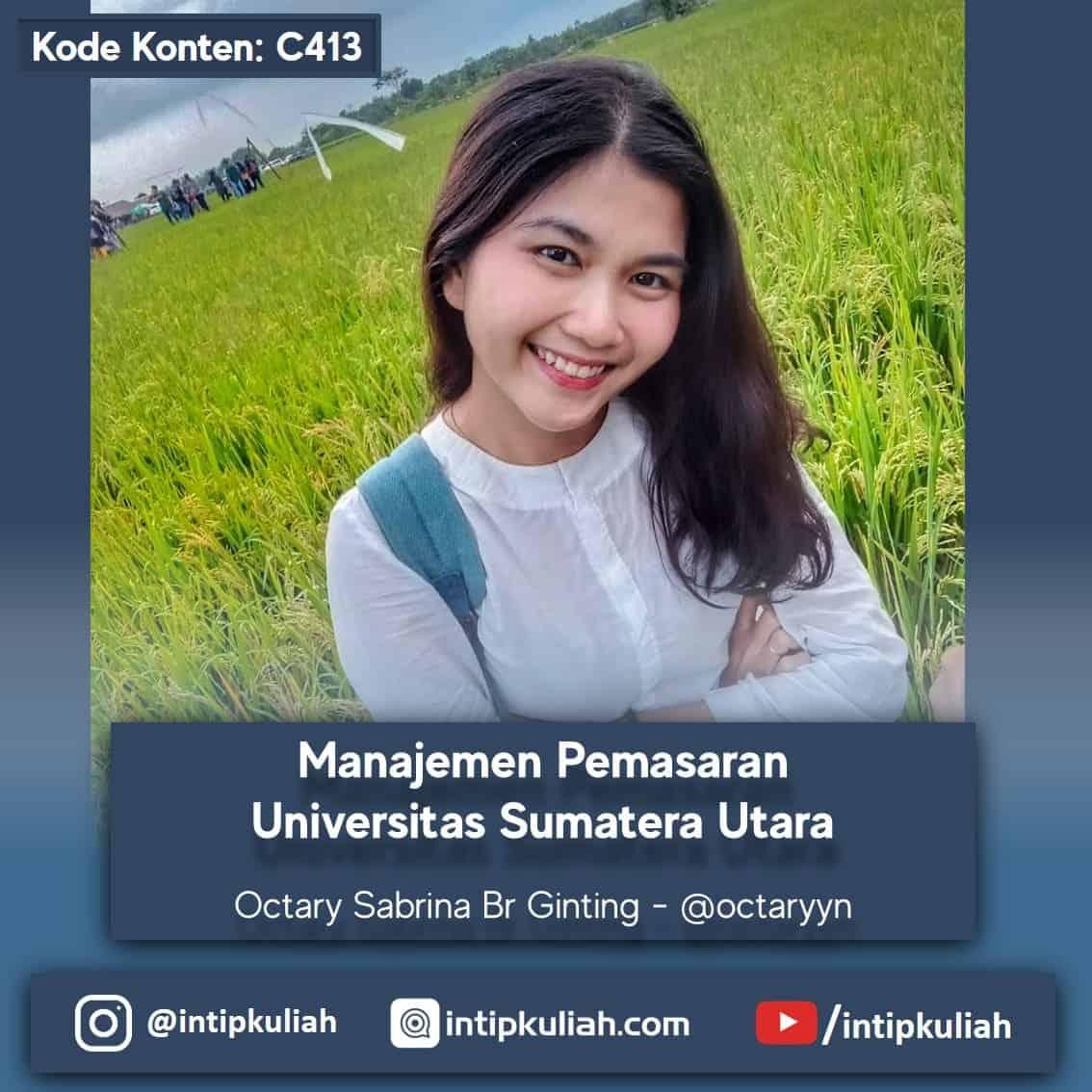 Manajemen Pemasaran Universitas Sumatera Utara (Tary)