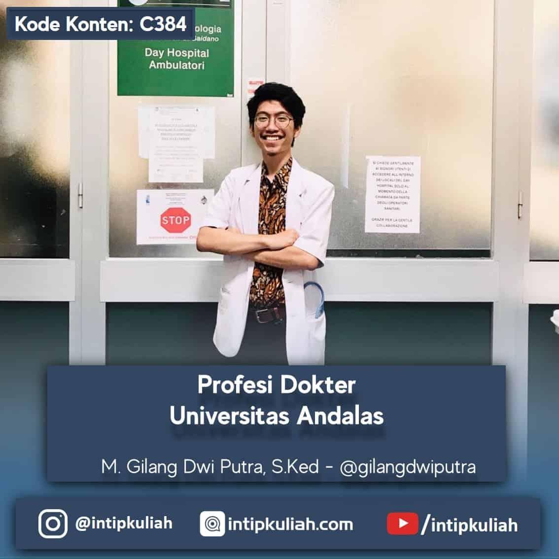 Profesi Dokter Universitas Andalas (Gilang)