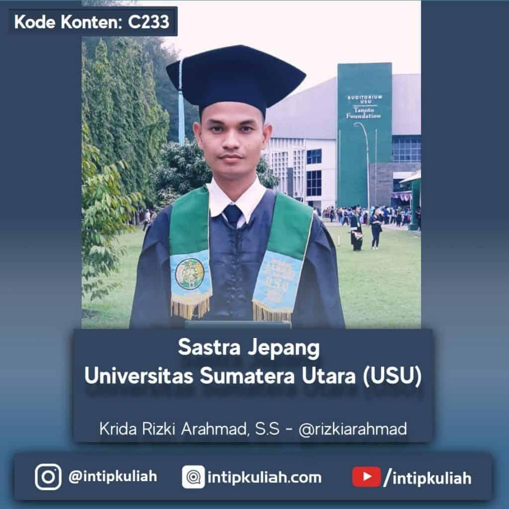 Sastra Jepang Universitas Sumatera Utara (Krida)