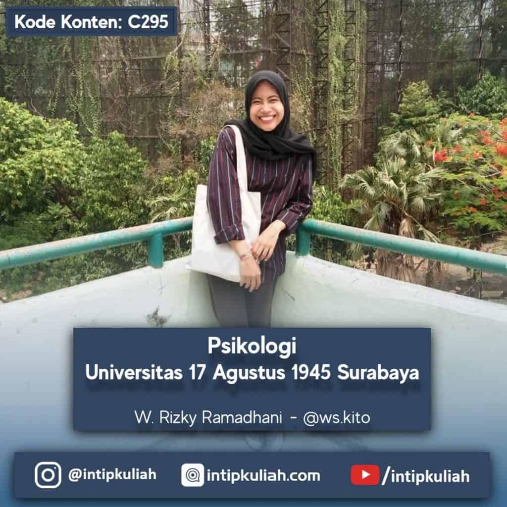 Psikologi Universitas 17 Agustus 1945 Surabaya (Kiki)