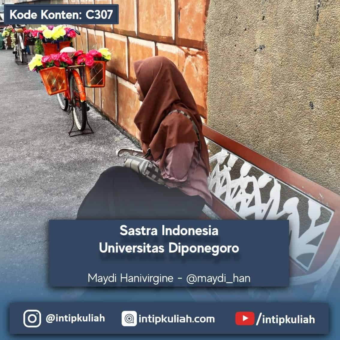 Sastra Indonesia Universitas Diponegoro (Maydi)