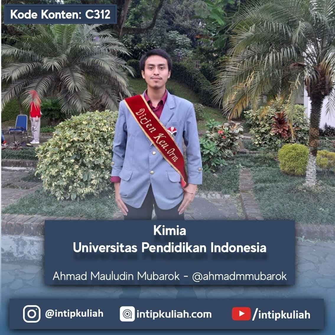 Kimia Universitas Pendidikan Indonesia (Ahmad)