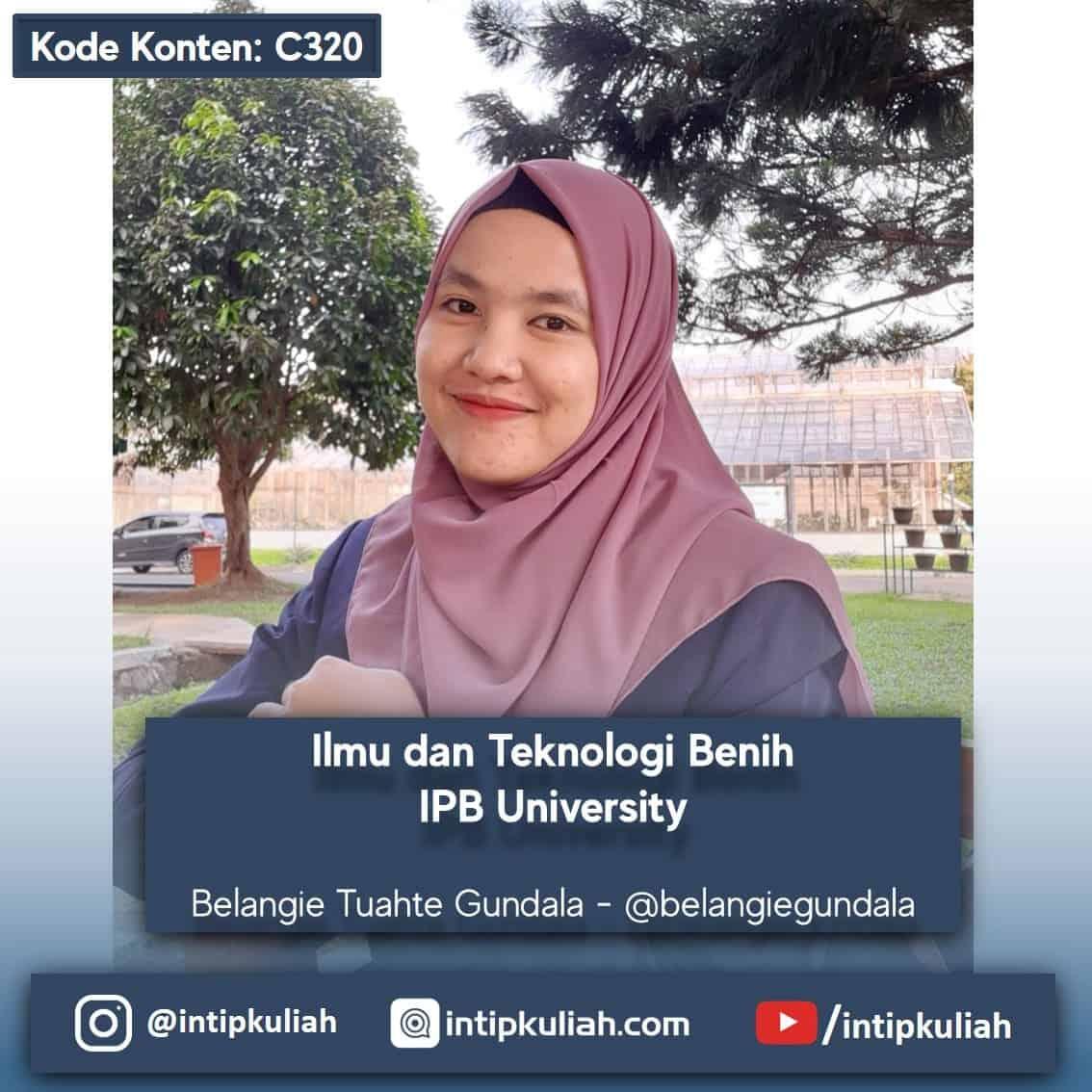 S2 Ilmu dan Teknologi Benih IPB University (Bela)