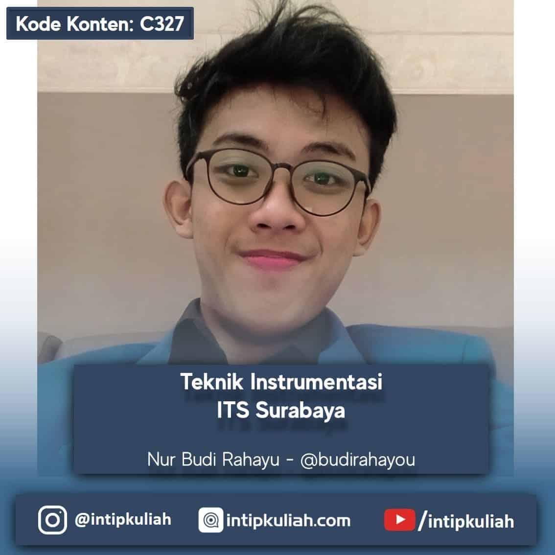 Teknik Instrumentasi ITS Surabaya (Budi)