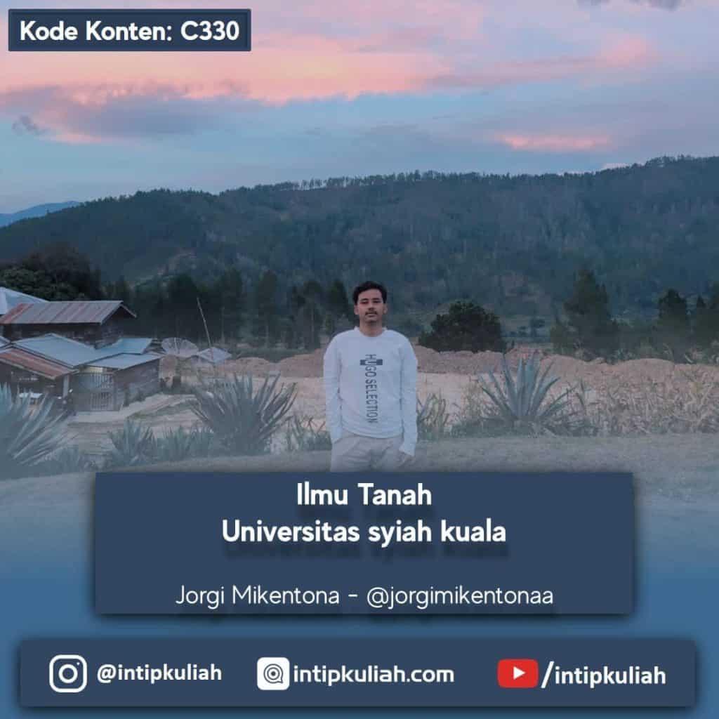 Ilmu Tanah Universitas Syiah Kuala (Jorgi)