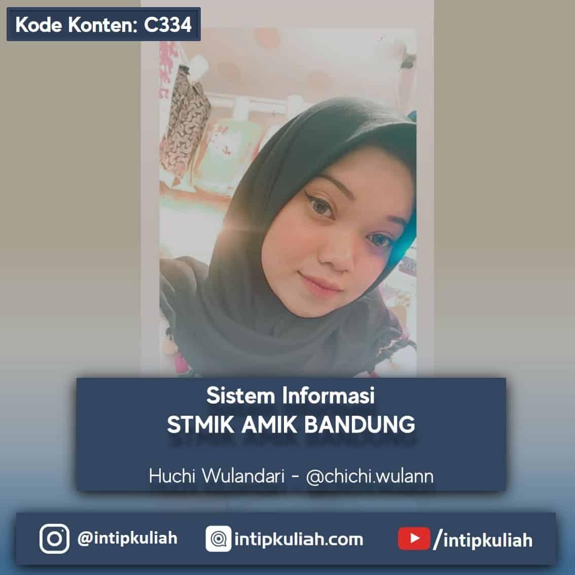 Sistem Informasi STMIK AMIK Bandung (Huchi)