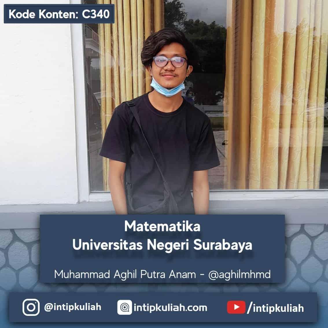 Matematika Universitas Negeri Surabaya (Aghil)