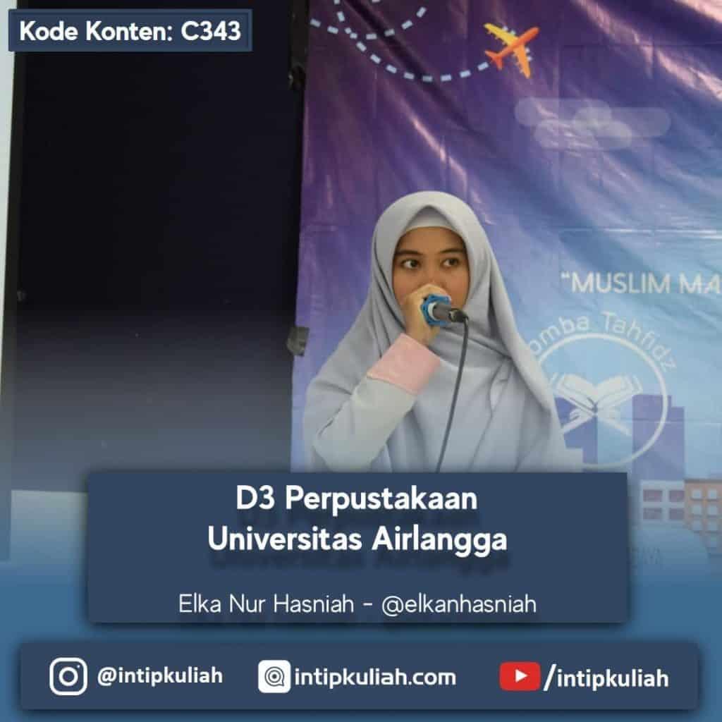 D3 Perpustakaan Universitas Airlangga (Elka)