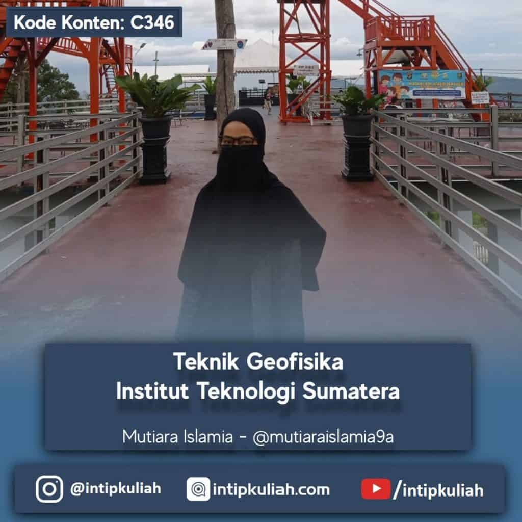 Teknik Geofisika Institut Teknologi Sumatera (Mutiara)