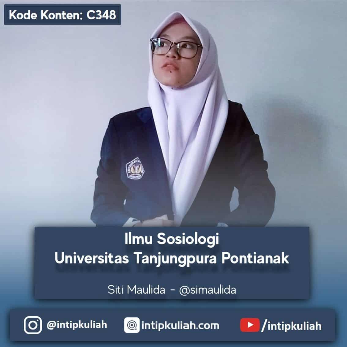 Sosiologi Universitas Tanjung Pura Pontianak (Siti)