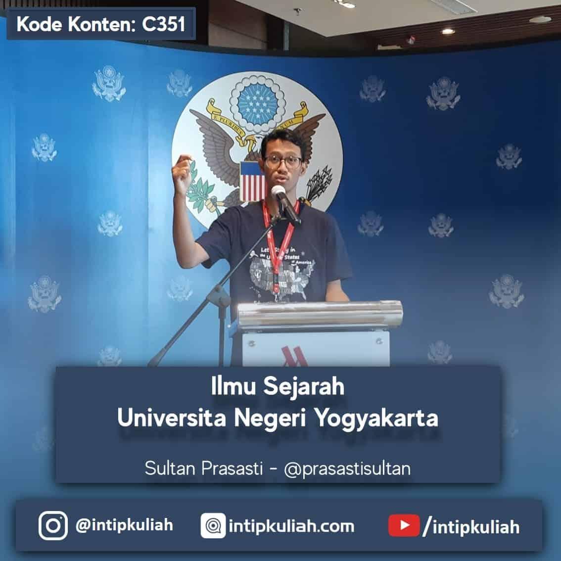 Ilmu Sejarah Universitas Negeri Yogyakarta (Pras)