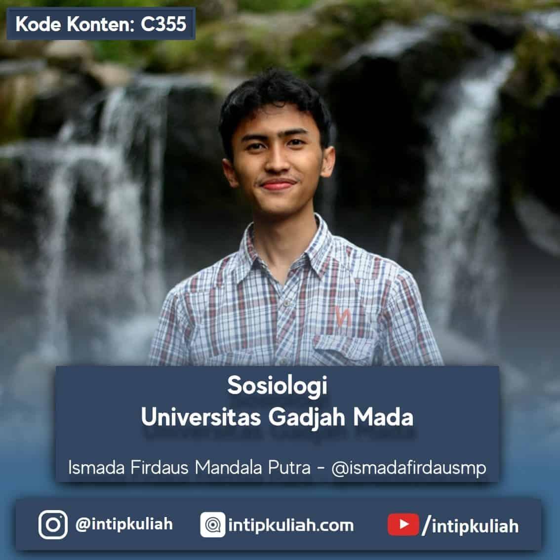 Sosiologi Universitas Gadjah Mada (Ismada)