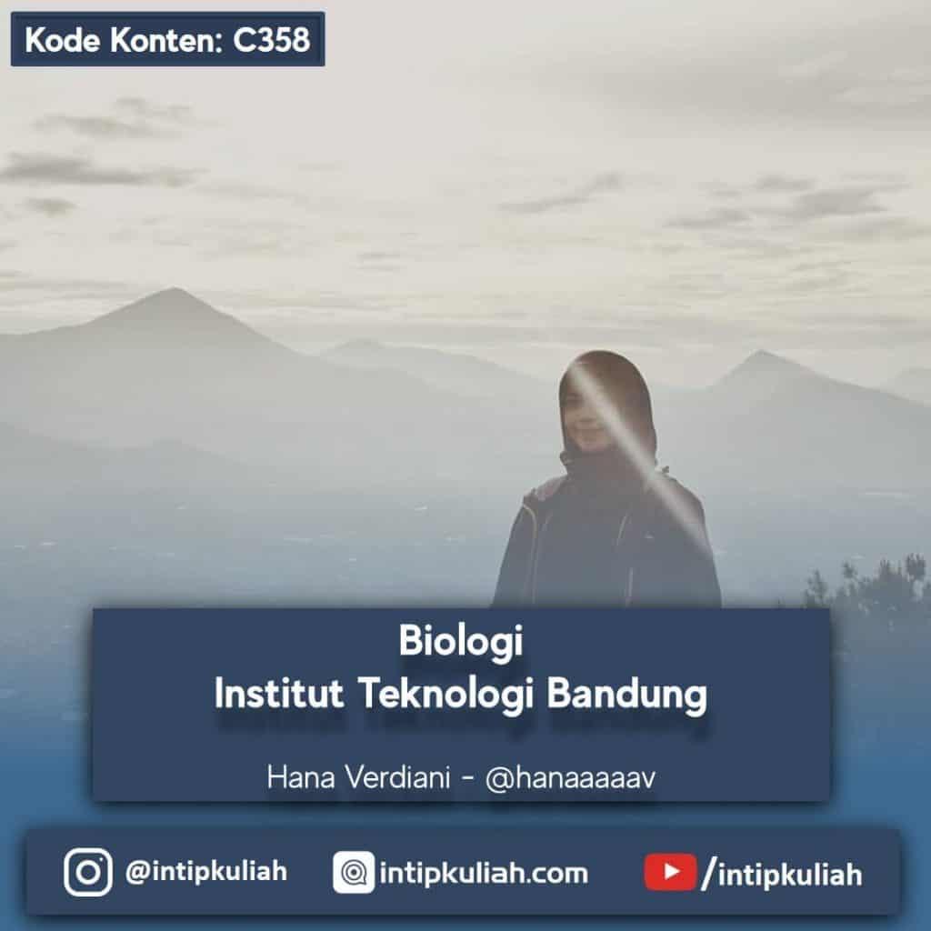 Biologi Institut Teknologi Bandung (Hana)
