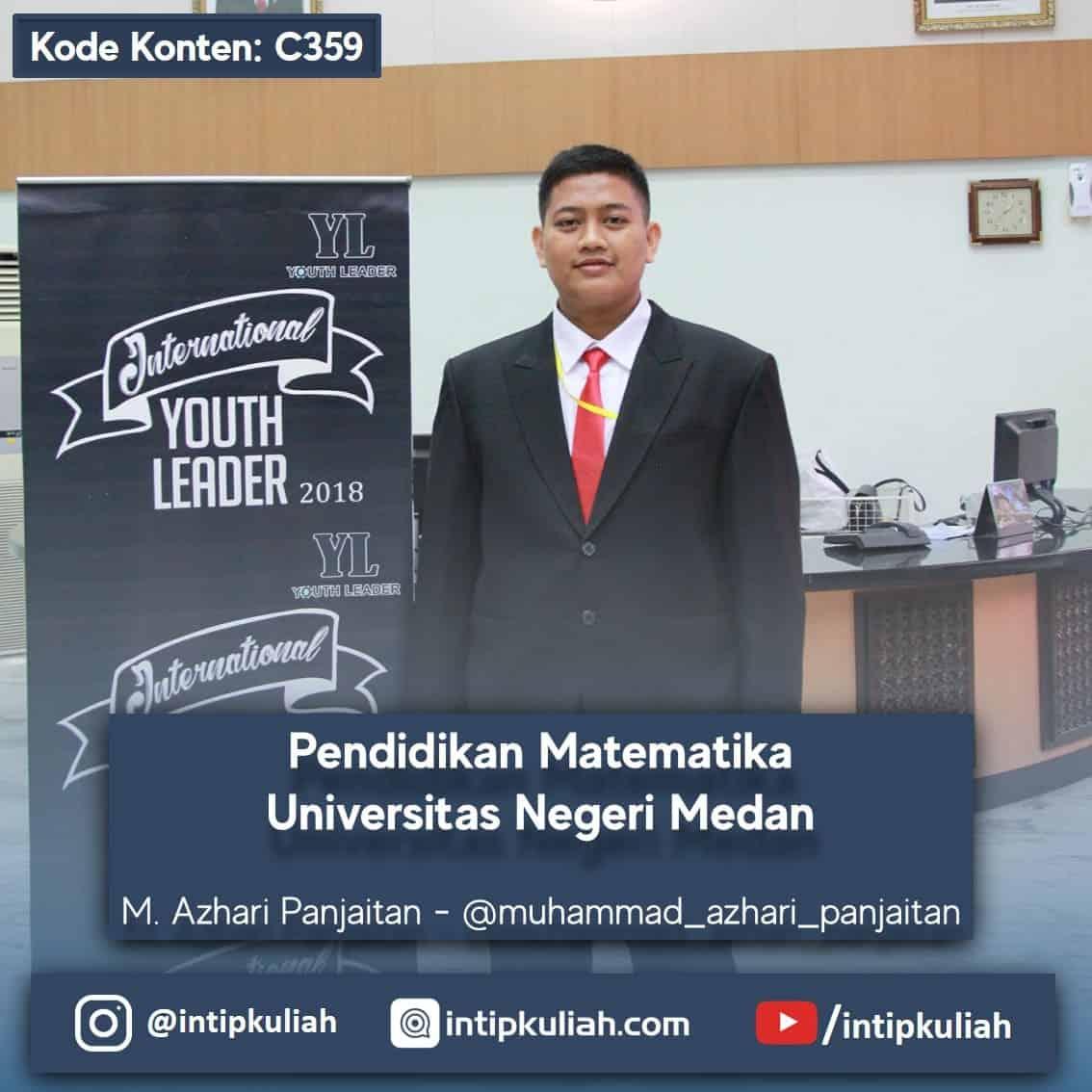 Pendidikan Matematika Universitas Negeri Medan (Azhari)