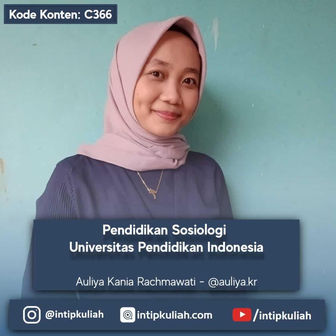 Pendidikan Sosiologi UPI (Auliya)