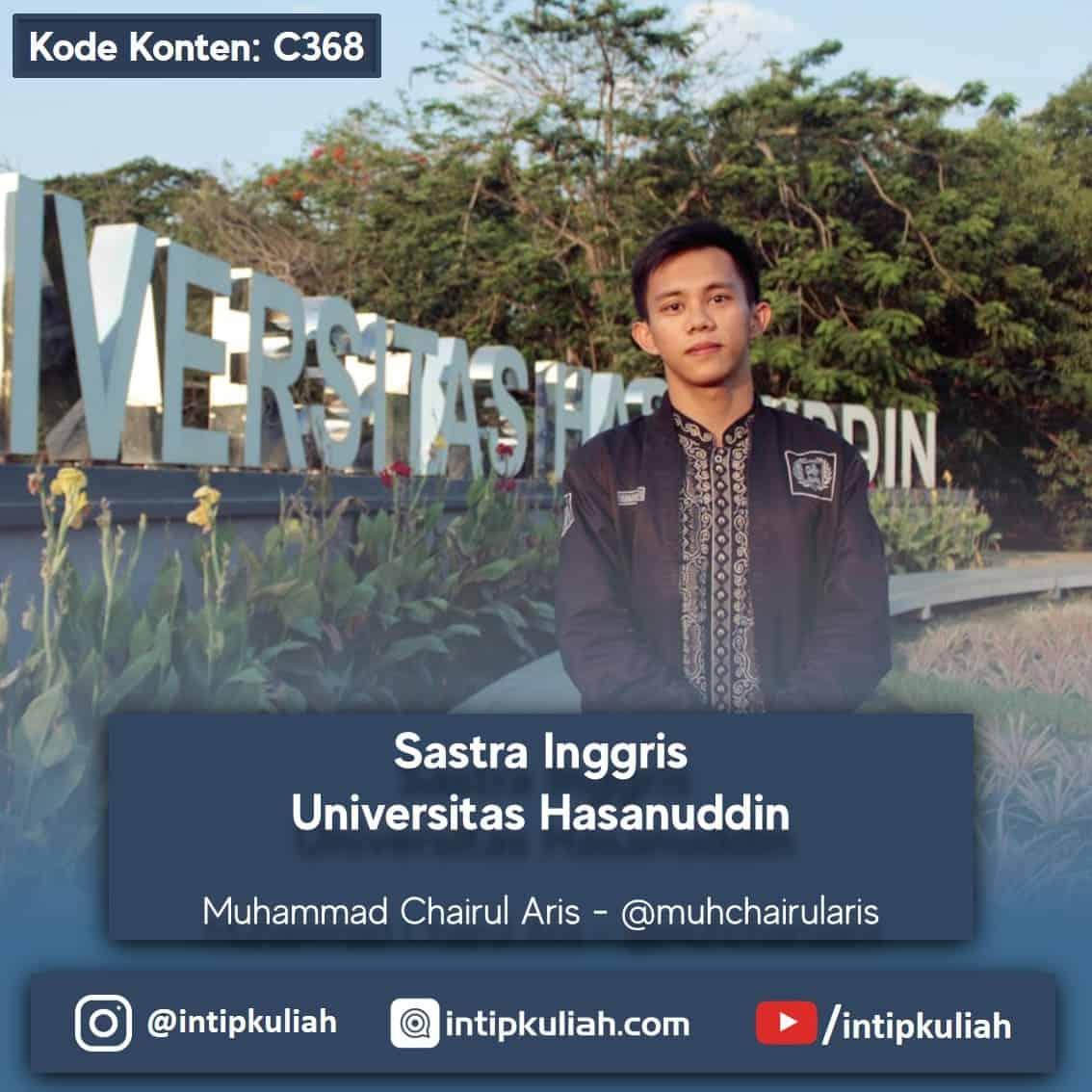 Sastra Inggris Universitas Hasanuddin (Chairul)