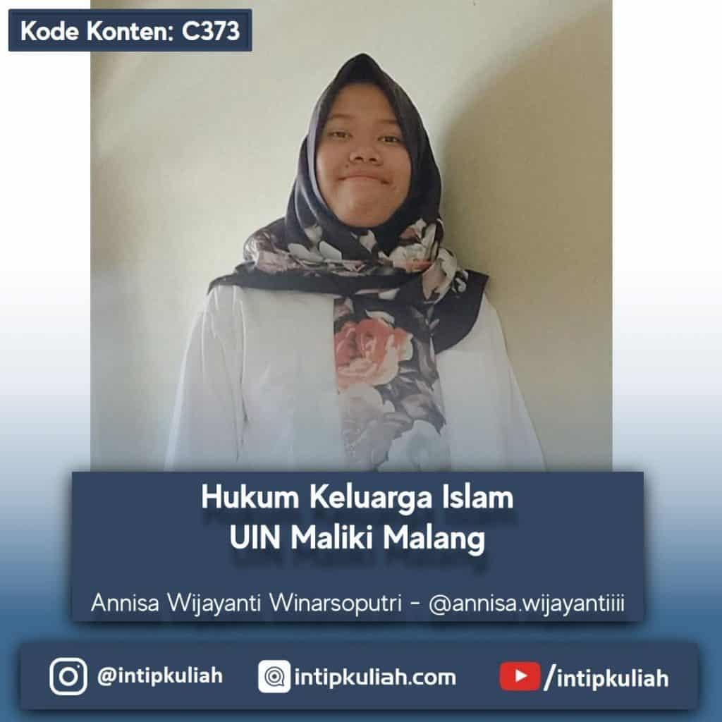 Hukum Keluarga Islam UIN Maliki Malang (Annisa)