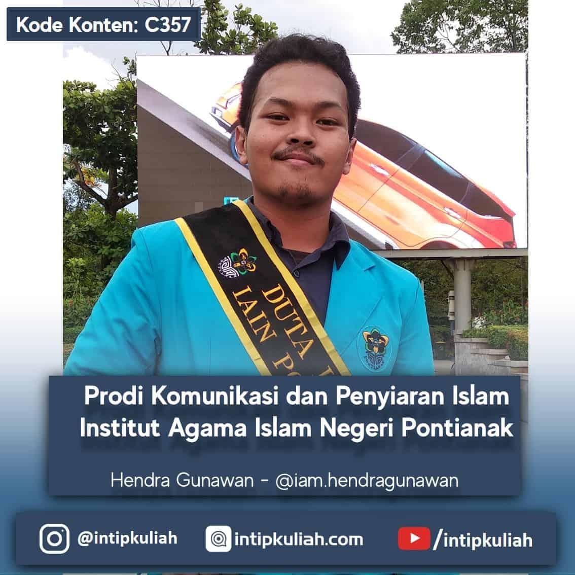Komunikasi dan Penyiaran Islam IAIN Pontianak (Hendra)