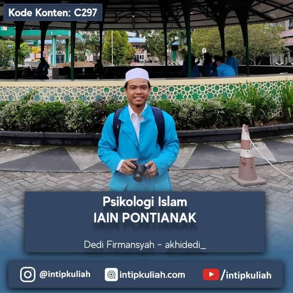 Psikologi Islam IAIN Pontianak (Dedi)