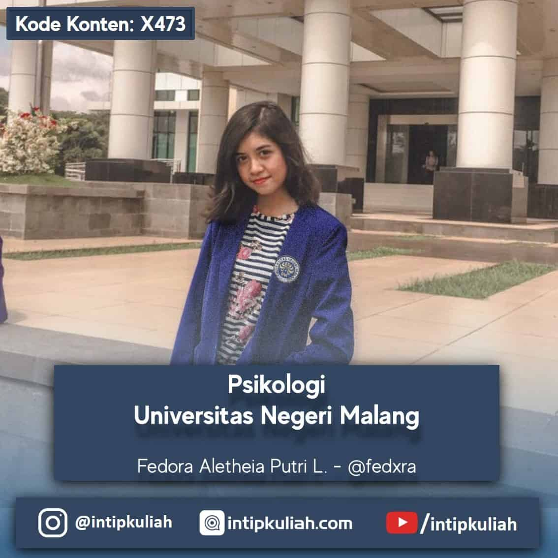 Psikologi Universitas Negeri Malang (Fedora)