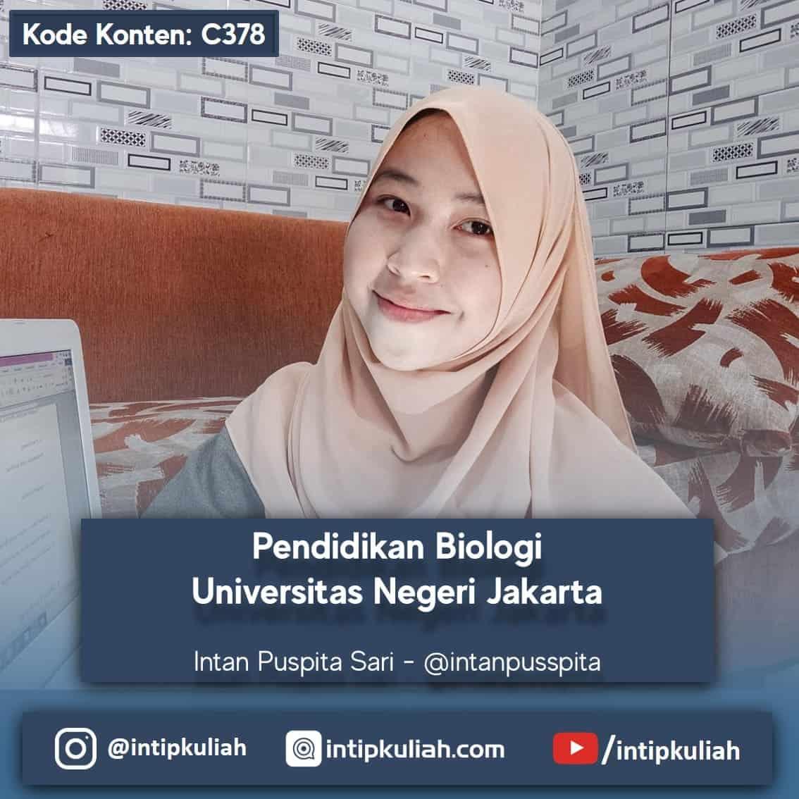 Pendidikan Biologi UNJ (Intan)