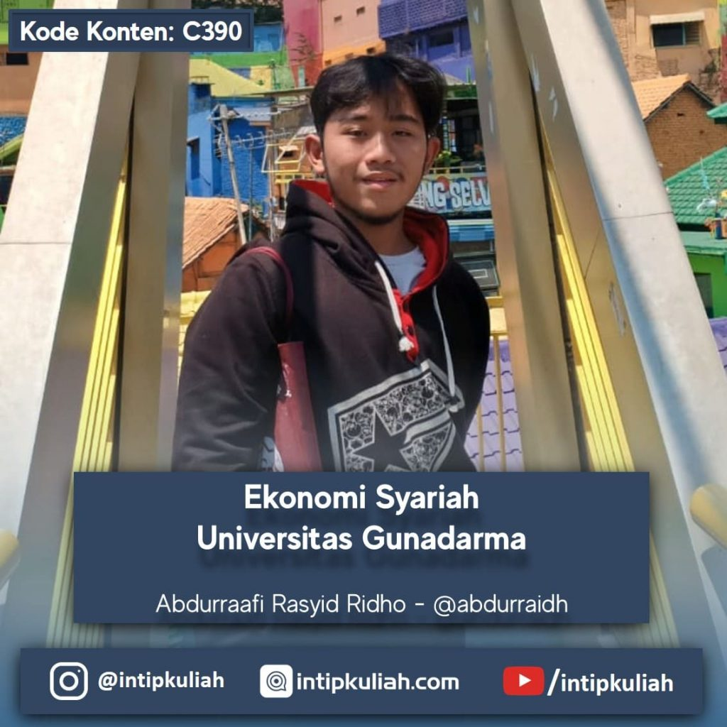 Ekonomi Syariah Universitas Gunadarma (Abdurraafi)