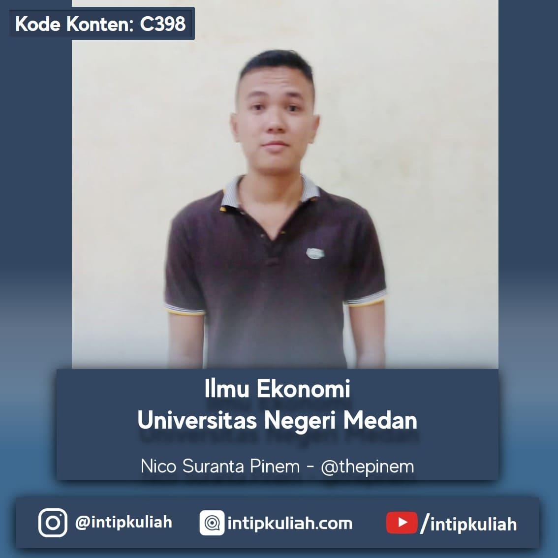 Ilmu Ekonomi Universitas Negeri Medan (Nico)
