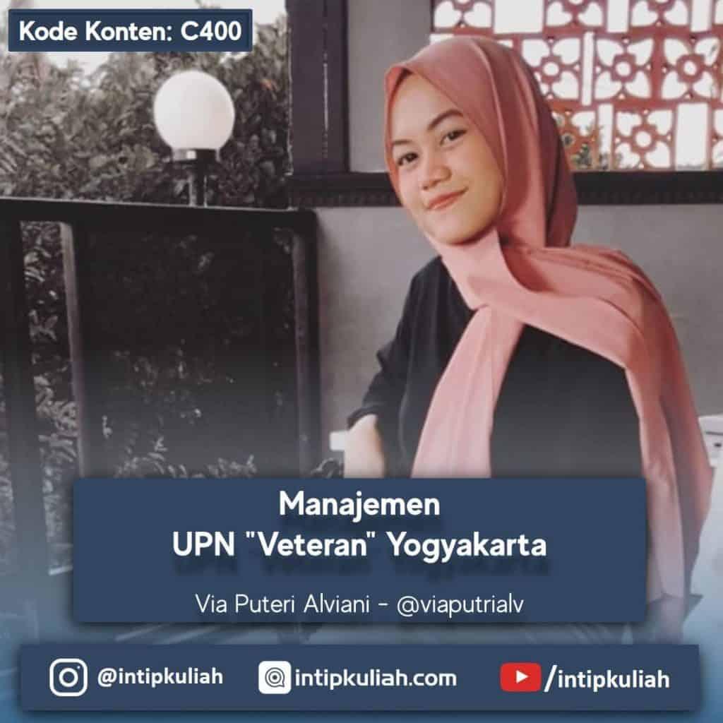 Manajemen UPN Veteran Yogyakarta (Via)