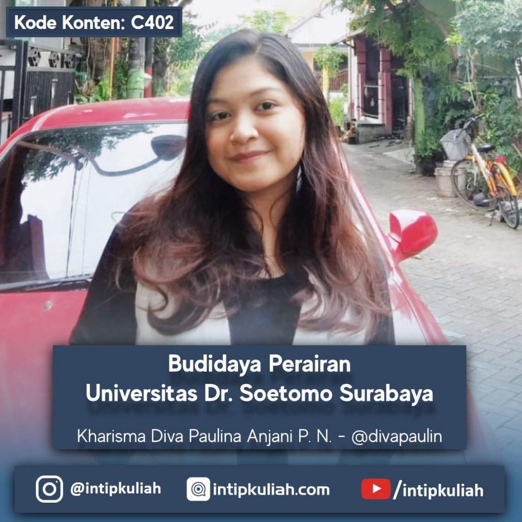 Budidaya Perairan Universitas Dr. Soetomo Surabaya (Kharisma)