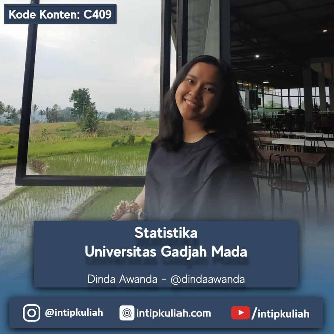 Statistika UGM (Dinda)