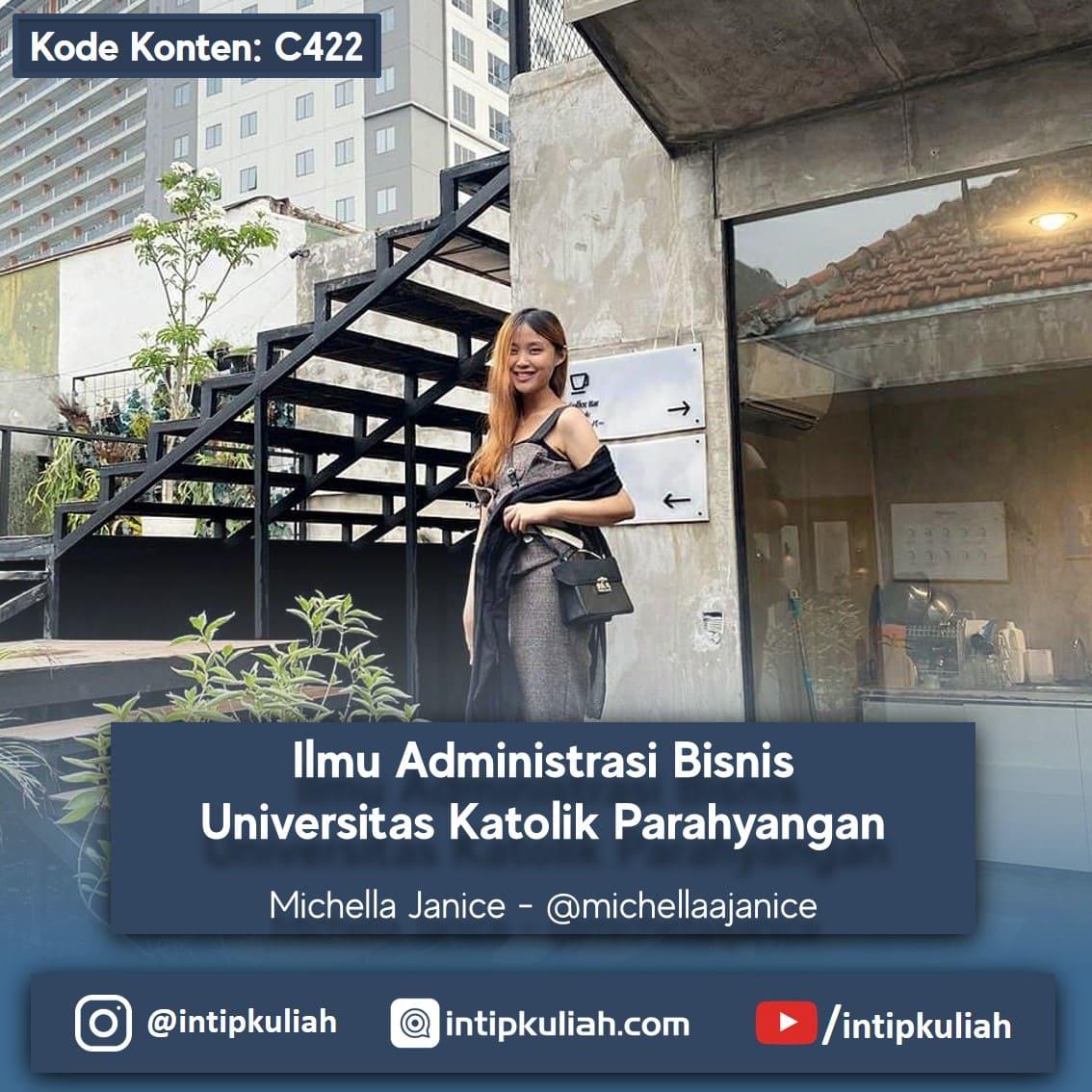 Administrasi Bisnis Universitas Katolik Parahyangan (Michella)