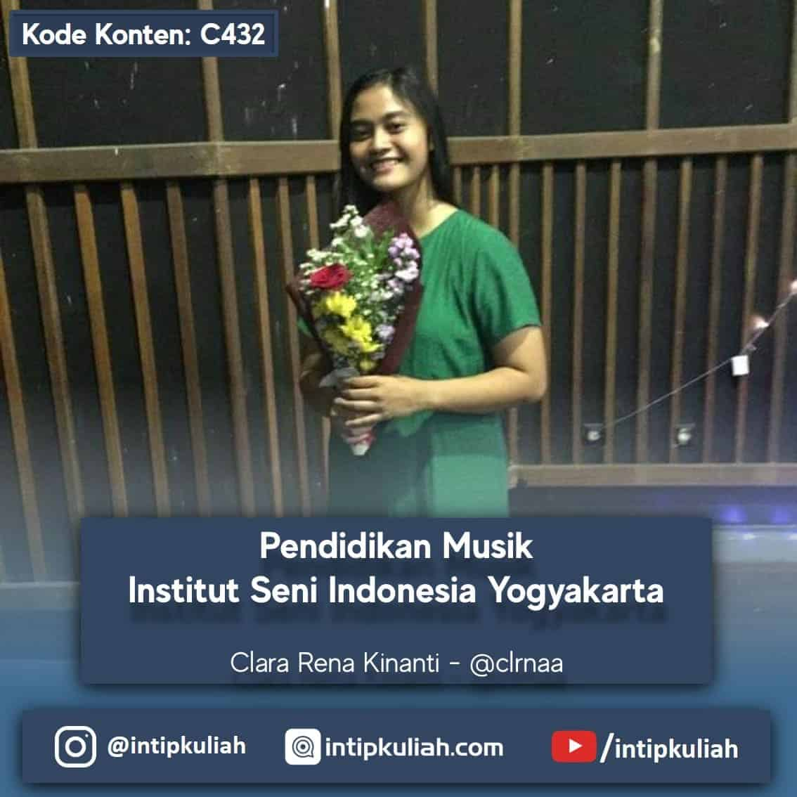 Pendidikan Musik Institut Seni Indonesia Yogyakarta (Rena)