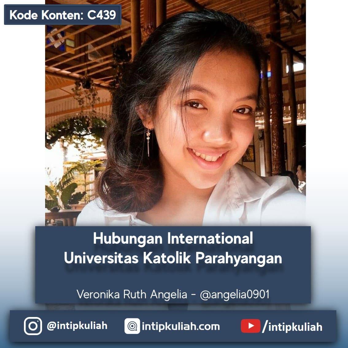 Hubungan International Universitas Katolik Parahyangan (Vero)