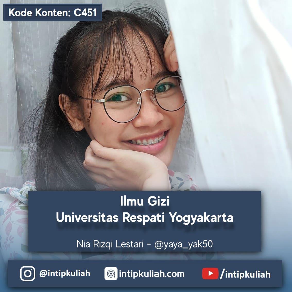 Ilmu Gizi Universitas Respati Yogyakarta (Nia)