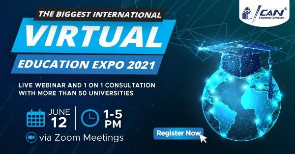 Butuh Info Universitas Luar Negeri? Daftar di ICAN Virtual Education Expo 2021