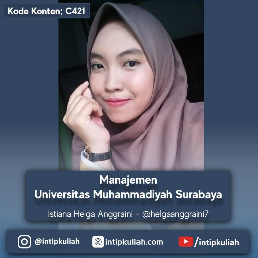 Manajemen Universitas Muhammadiyah Surabaya (Helga)