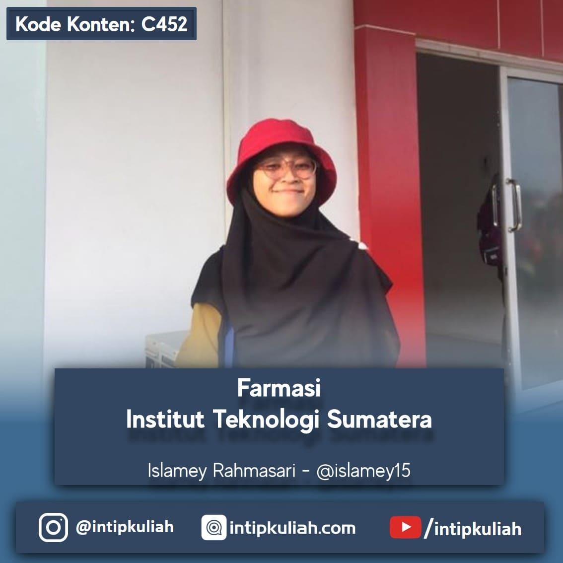 Farmasi Institut Teknologi Sumatera (Mey)