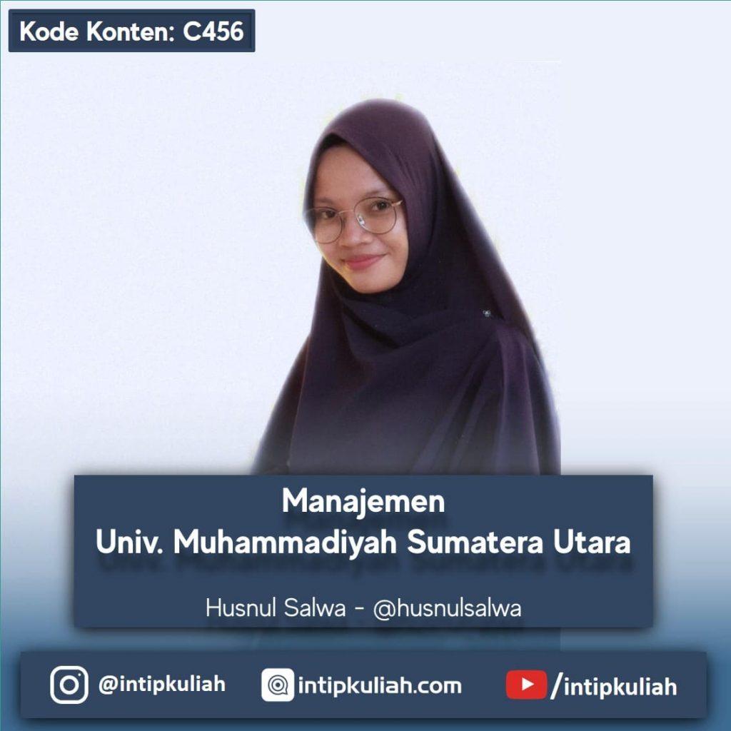 Manajemen Universitas Muhammadiyah Sumatera Utara (Salwa)