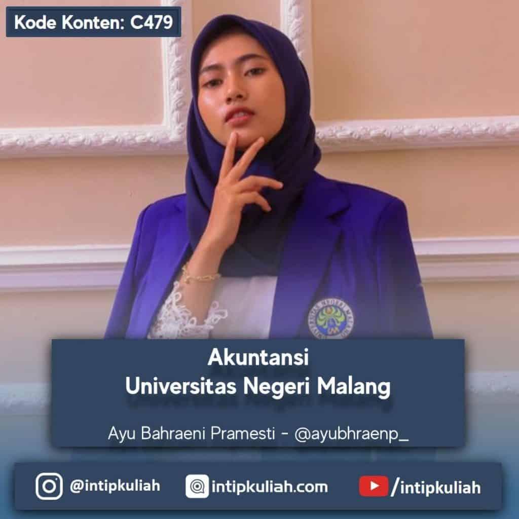 Akuntansi Universitas Negeri Malang (Ayu)