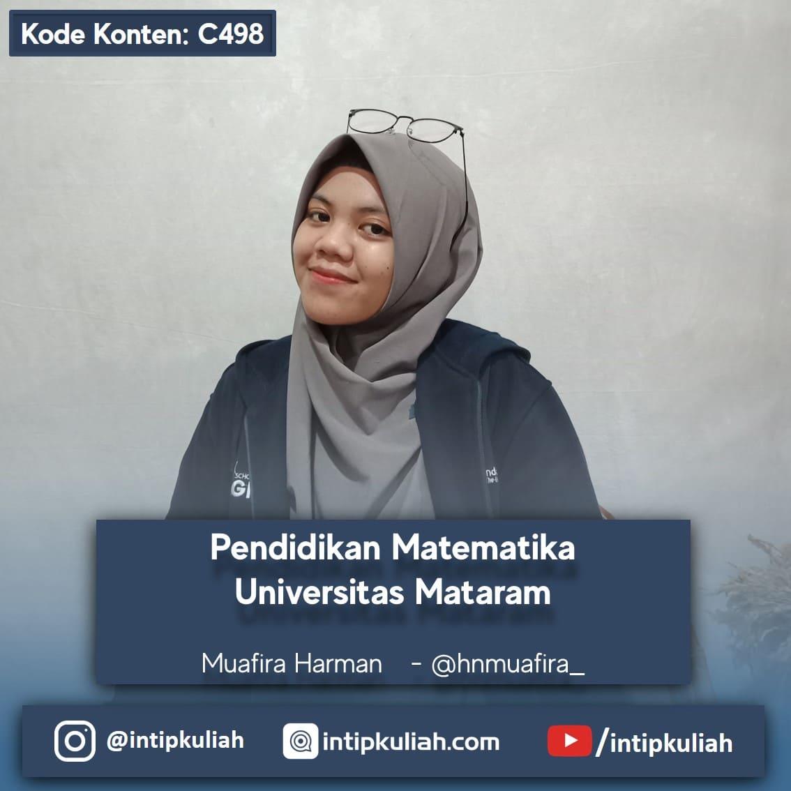 Pendidikan Matematika Universitas Mataram (Muafira)