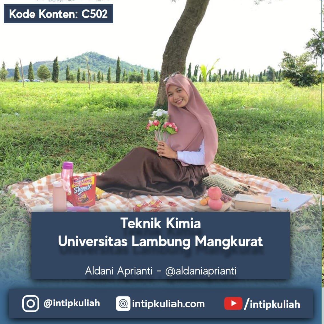 Teknik Kimia Universitas Lambung Mangkurat (Alda)