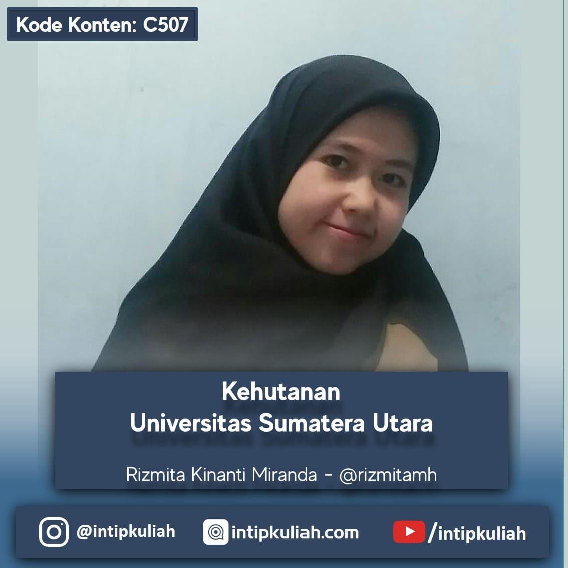 Kehutanan Universitas Sumatera Utara (Mita)