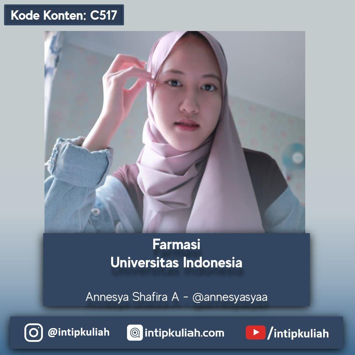 Farmasi Universitas Indonesia (Nesya)