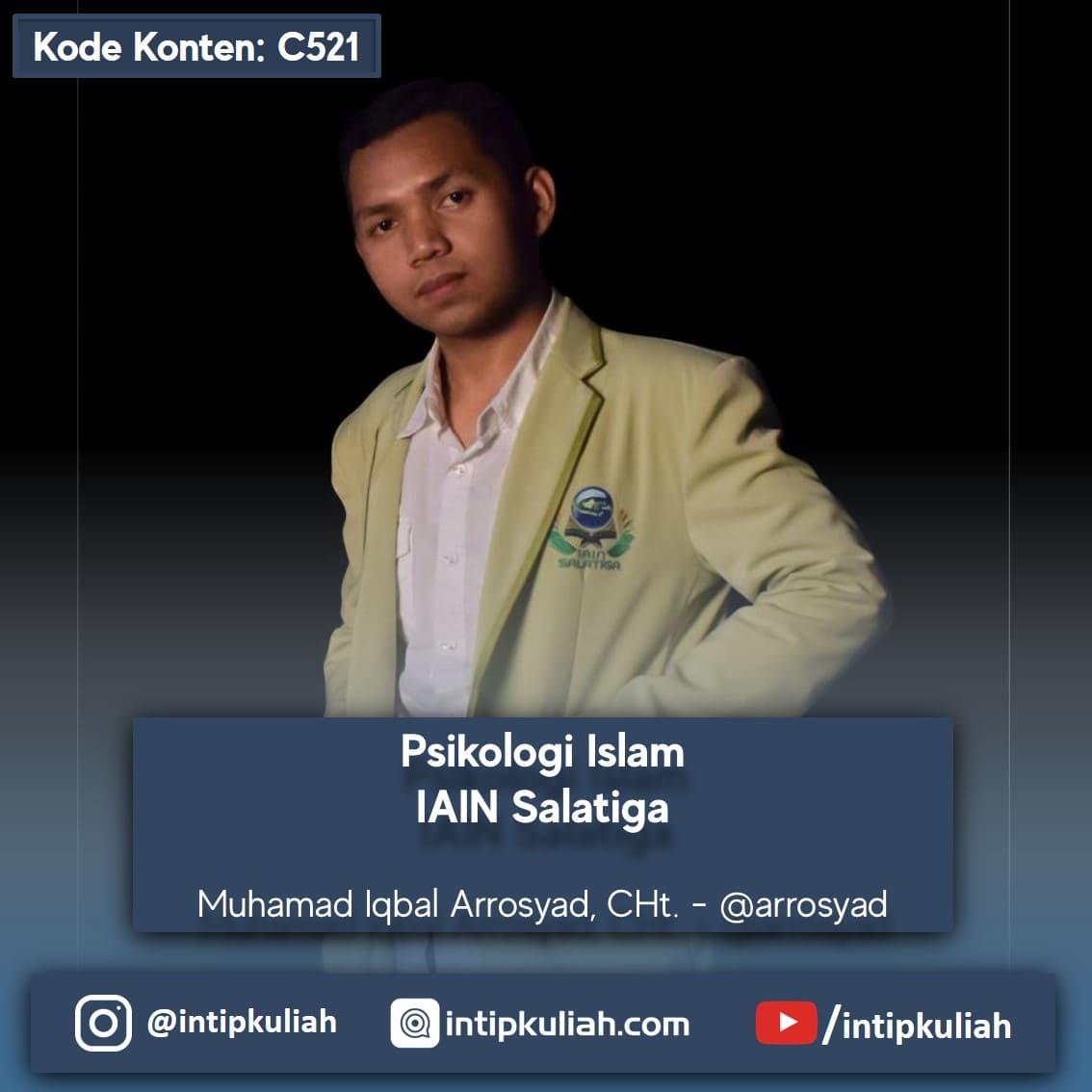 Psikologi Islam IAIN Salatiga (Iqbal)