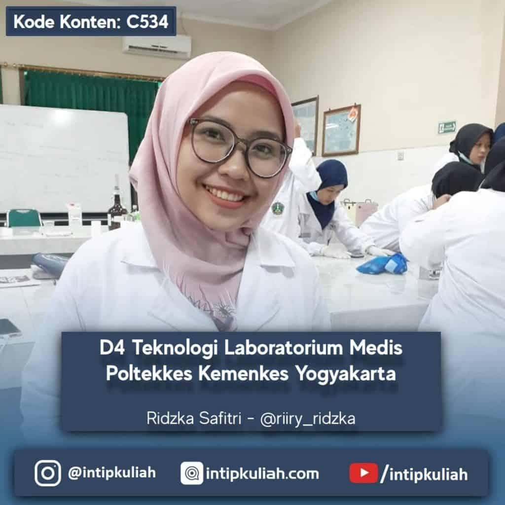 D4 Teknologi Laboratorium Medis Poltekkes Kemenkes Yogyakarta (Ridzka)