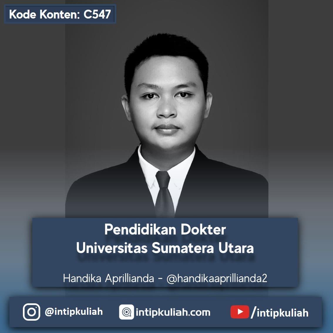 Pendidikan Dokter Universitas Sumatera Utara (Handika)