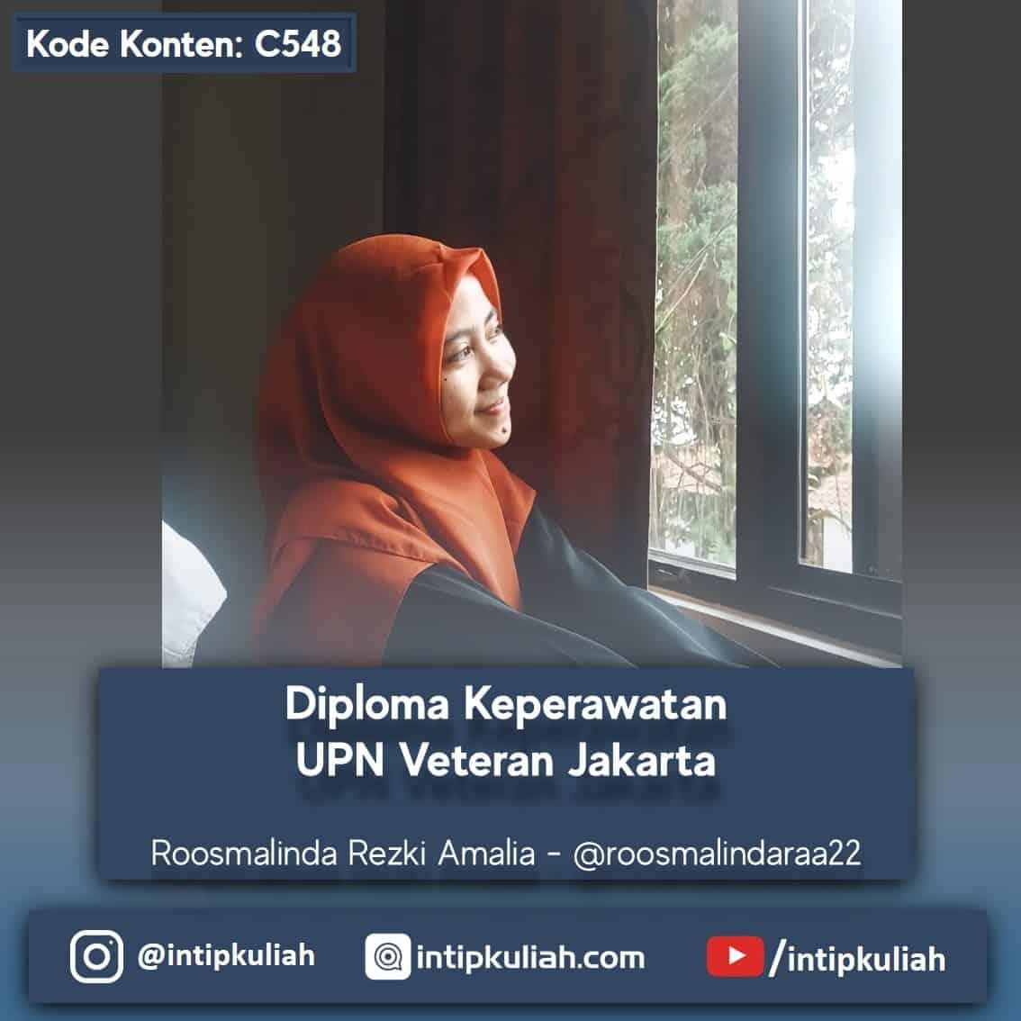 D3 Keperawatan UPN Veteran Jakarta (Roosmalinda)
