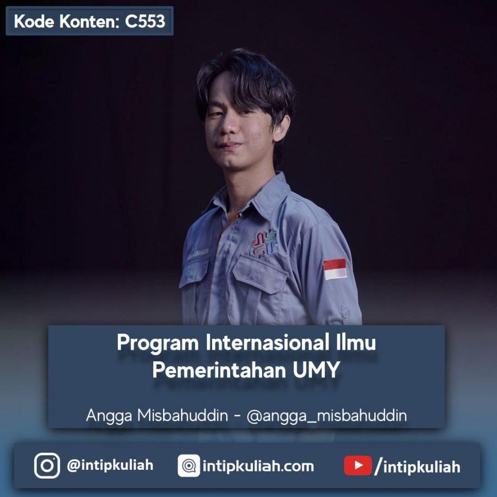 Program Internasional Ilmu Pemerintahan UMY (Angga)