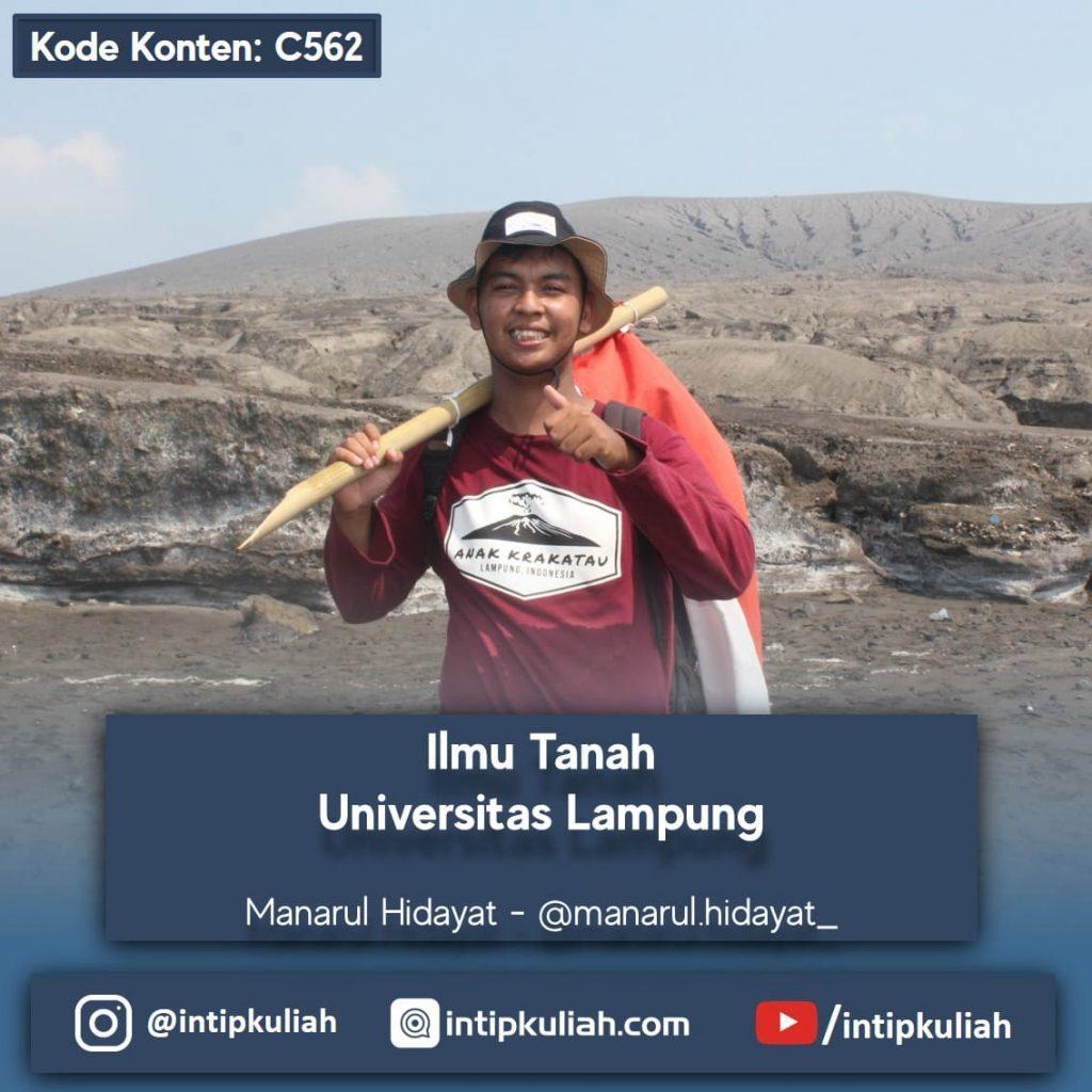 Ilmu Tanah Universitas Lampung (Arul)